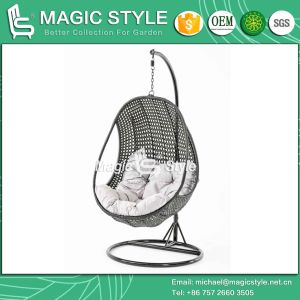 Wicker Swing Swinging Hammock Chair Hanging Chair Balcony Chair (Magic Style) pictures & photos
