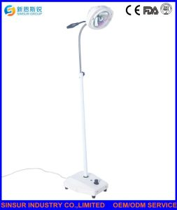Hospital Surgical Equipment Mobile Shadowless LED Operating Exam Light pictures & photos