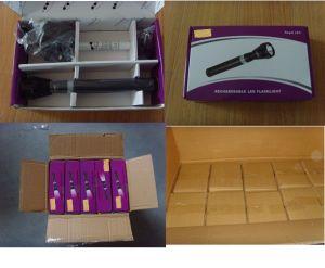 3 Watt High Power Aluminum LED Rechargeable Flashlight pictures & photos