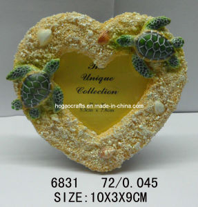 Cute Polyresin Seascape Turtle Picture Frame pictures & photos