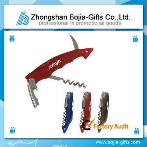 Red Wine Opener Bottle Opener with Customized Logo (BG-BD853)