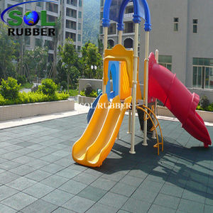 Top Manufacturer for Rubber Flooring Tile pictures & photos