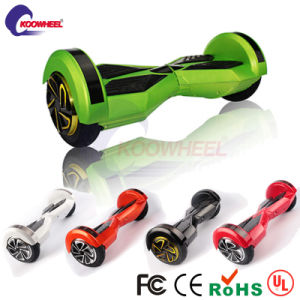 8 Inch Two Wheel Electric Scooter with Bluetooth Speaker pictures & photos