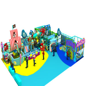 Kid′s Sea Theme Indoor Soft Playground Equipment pictures & photos