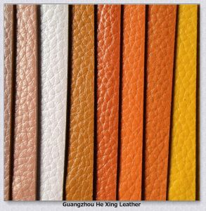 High Quality Synthetic PVC Leather for Woman Bag, Purse pictures & photos