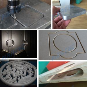 Cabniet Plastic MDF Furniture Engraving Wood Cutting Machine pictures & photos