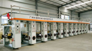 Excellent New 10 Color Rotogravure Printing Machine