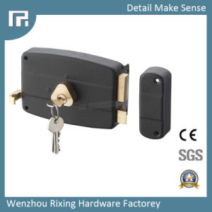 Mechanical Door Rim Lock (157A) pictures & photos