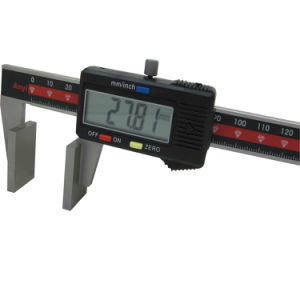 Broad Face Wire Rope Caliper Wide Jaw Vernier Calipers pictures & photos