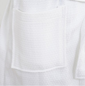 100% Cotton Waffle Bathrobe From China pictures & photos