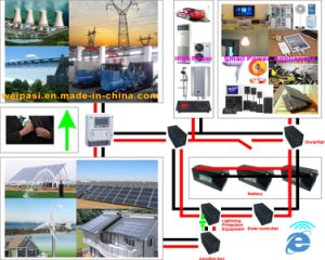 Solar power generating system ON Grid Home Solar System 1KW to 100000KW pictures & photos