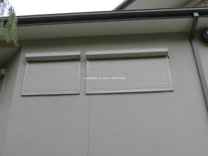 Fingertip Control Aluminium Window Roller Shutters pictures & photos