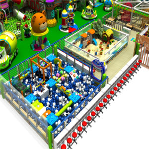 Excellent Design Safe Ce Indoor Soft Playground for Kids pictures & photos
