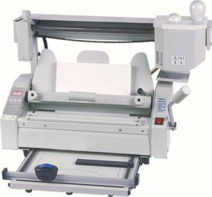 Professional Supplier Glue Binder with Creasing Perforating Cutting Desktop Gluing (WD-JB-4) pictures & photos