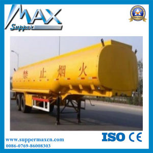 3 Axle 40m3 Oil Tanker / Fuel Tanker Semi Trailer pictures & photos
