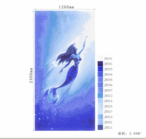 Swimming Pool Glass Mosaic Cheap Glass Mosaic Pattern Mosaic Tile with Mesh-Back pictures & photos