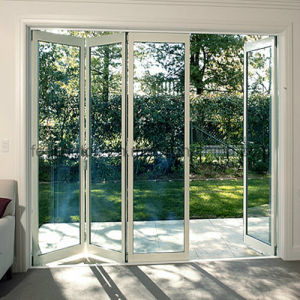 Feelingtop Best Quality Aluminum Alloy Luxury Folding Door pictures & photos