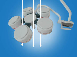 Ce Medical Equipment LED Surgical Light (YD02-LED4+5) pictures & photos