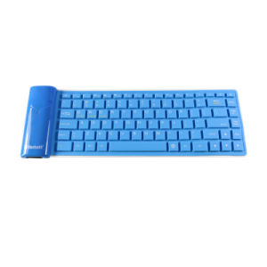 Mini Portable Water Proof and Foldable Silicone Wireless Keyboard pictures & photos