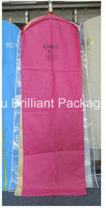 Wholesale Colored PEVA Bridal Dress Garment Bags pictures & photos