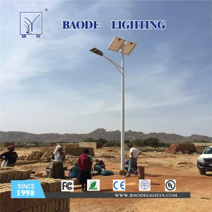 6-12m with Lithium Battery Solar LED Street Light pictures & photos