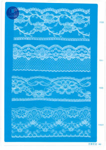 Non Elastic Lace for Clothing/Garment/Shoes/Bag/Case F0162 (width: 1.4CMM to 24cm) pictures & photos