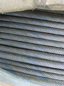 Black Steel Wire Rope, Ungalvanized Steel Wire Rope 19*7 pictures & photos