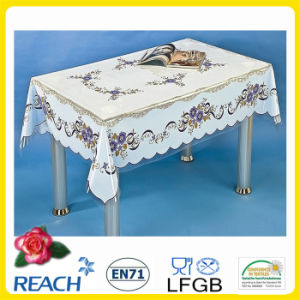 New Design in 2016 PVC Printed Transparent Tablecloth Independent pictures & photos