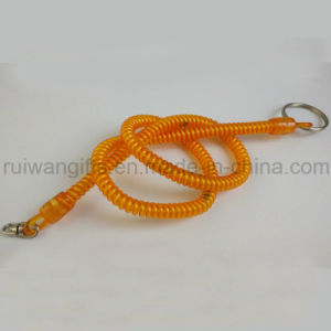 Coiled Plastic Spiral Bungee Cord pictures & photos