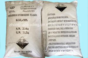 Potassium Hydroxide Flakes Industrial Grade for Australia Market pictures & photos