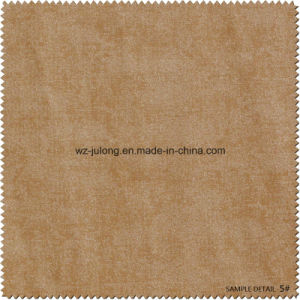 Good Hand Feeling PU Synthetic Leather Manufacture China (G013) pictures & photos
