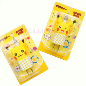Universal Pokemon Go Pikachu Carton USB Travel Charging/Charger Head pictures & photos