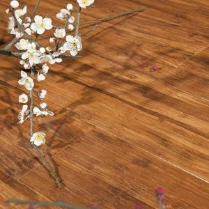 Strand Woven Bamboo Floor Carbonized pictures & photos