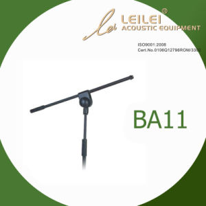 Height Ajustable Aluminium Microphone Stand (BA11) pictures & photos