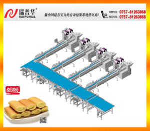 Swiss Roll Automatic Packing Line pictures & photos