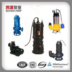 Shanghai Kaiyuan Submersible Sewage Centrifugal Pump pictures & photos