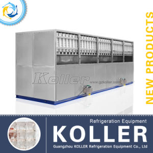 Large Cube Ice Machine for Hotels, Night Clubs and Bars 10tons/Day pictures & photos