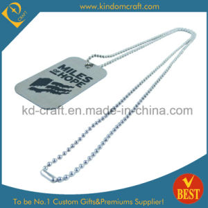Custom Military Dog Tag with Ball Chain (KD-325) pictures & photos