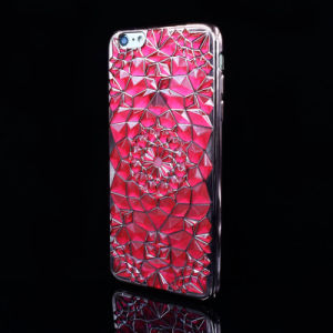 Electroplate Bright Diamond 3D IMD Craft TPU Phone Case for iPhone 5/6/6p