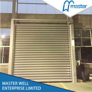 Technology Automatic PVC High Speed Roller Shutter Door pictures & photos
