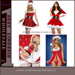 Sexy Uniforms Adult Party Christmas Fancy Dress Sexy Costume (7273) pictures & photos