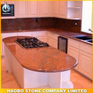 Kitchen Worktop Granite Kitchen Island pictures & photos