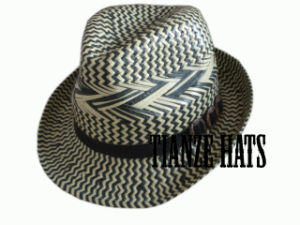 8 Bu Paper Straw Trilby Hat pictures & photos