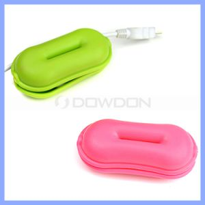 Wholesale Cord Winder Cable Organizer Silicon Cord Winder Box Popular Stylish Cable Holder pictures & photos