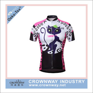 Womens Bike Cycling Design Cycling Jersey with High Quality pictures & photos