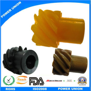Peek Plastic Injection Helical Spiral Gear pictures & photos