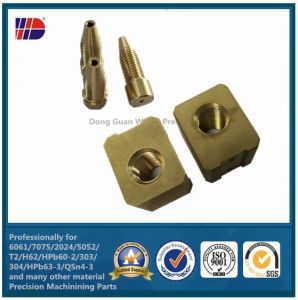 Brass Precision Stamping Part Wkc308 pictures & photos