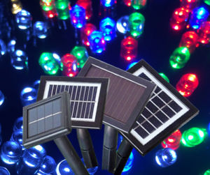 Glass PV Solar Light Controller with Battery Polycrystal 13*9.6 pictures & photos