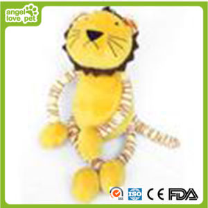 New Design Lovely Lion Shape Squeaker Baby/Pet Plush Toy pictures & photos