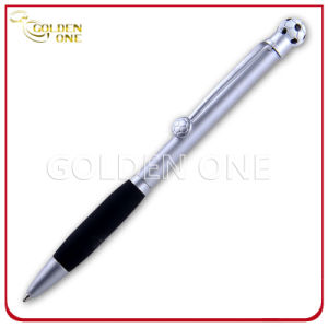 Creative Style Football Shape Promotion Gift Click Ball Pen pictures & photos